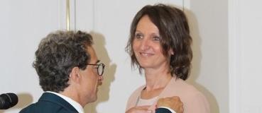 Remise légion d'honneur Pascale Bouillé